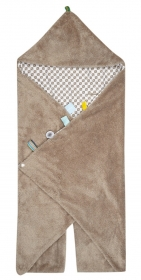 Snoozebaby Wickeldecke Trendy Wrapping, Desert Taupe