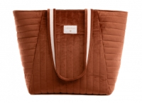Nobodinoz Wickeltasche Savanna Velvet, Wild Brown