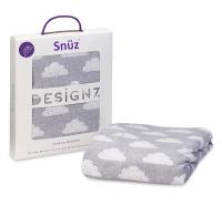 Snüz Fixleintuch Spannbettuch bis max. 70x140 cm (2er Pack), Cloud Nine