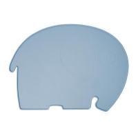 Sebra Silikon Platzdeckchen, Elefant, powder blue