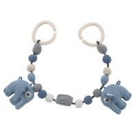 Sebra Kinderwagenkette, Elefanten royal blue