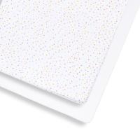Snüz Fixleintuch Spannbettuch bis max. 70x140 cm (2er Pack), Colour Spots