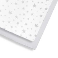 Snüz Fixleintuch Spannbettuch bis max. 70x140 cm (2er Pack), Stars