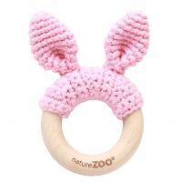 Sebra Beissring Kaninchen, Baby pink