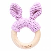 Sebra Beissring Kaninchen, Lavendel