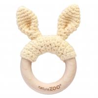 Sebra Beissring Kaninchen, beige