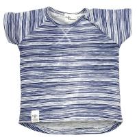 Riffle Amsterdam T-Shirt, stripe indigo