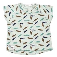 Riffle Amsterdam T-Shirt, feather