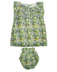 Riffle Amsterdam Kleid + Bloomer, flower green