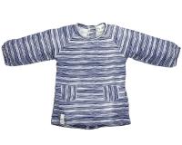 Riffle Amsterdam Kleid, indigo stripe