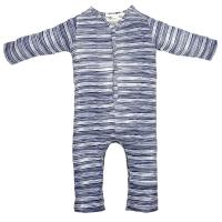 Riffle Amsterdam Pyjama, stripe indigo
