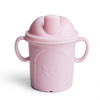 Herobility Schnabeltasse Hero Eco Cup, 210 ml - rosa