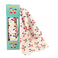 Rex London Muslin Swaddle Pucktuch, Charlie The Horse