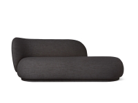 Ferm Living Rico Divan Boucle, Dark Grey