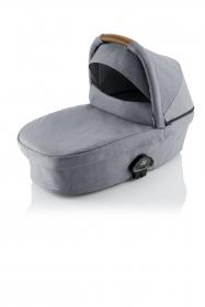 Britax Römer Smile III Babywanne, Frost Grey mit braunen Bügel