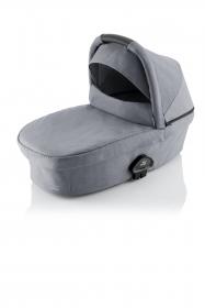 Britax Römer Smile III Babywanne, Frost Grey mit schwarzem Bügel
