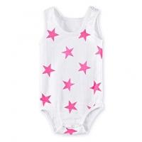 Aden Anais Body Pink Star, 0-3 Monate
