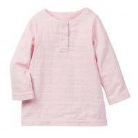 Aden Anais Shirt Tunic Top, Rosa, 6-9 Monate