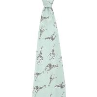 Aden + Anais Comfort Knit Swaddle - Jade Giraffes