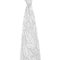 Aden + Anais Comfort Knit Swaddle - Zebra Plant