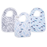 Aden + Anais Lätzchen Snap Bibs, 3er Pack - gone fishing