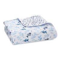 Aden Anais Kuscheldecke Dream Blanket - gone fishing