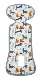 AeroMoov Air Layer, Sommer-Sitzeinlage für Kindersitz Gr. 0+, Cats