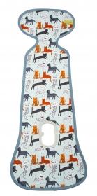 AeroMoov Air Layer, Sommer-Sitzeinlage für Kindersitze G. 1 - Cats