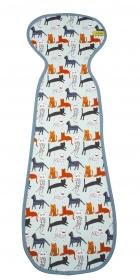 AeroMoov Air Layer, Sommer-Sitzeinlage für Kindersitze Gr. 2/3 - Cats