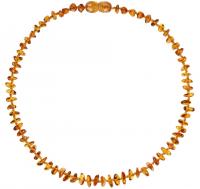 Amberos Bernsteinkette, Nuggets Splitter Honig Gelb