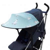 Leokid Sonnenschutz für Kinderwagen und Kindersitze, Minty Vespa Croc