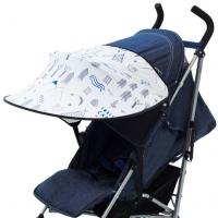 Leokid Sonnenschutz für Kinderwagen und Kindersitze, Lamas Camp