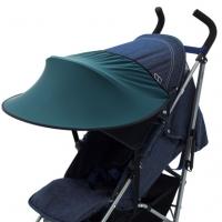 Leokid Sonnenschutz für Kinderwagen und Kindersitze, Dragonfly Green