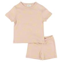 Trixie kurzes Pyjama (zweiteilig), Lemon Squash