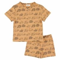 Trixie kurzes Pyjama (zweiteilig), Silly Sloth