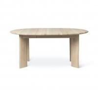 Ferm Living Bevel Tisch erweiterbar 117-167 cm, Weiss geölte Eiche