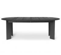 Ferm Living Bevel Tisch erweiterbar 117-217 cm, schwarz geölte Eiche