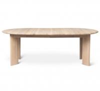 Ferm Living Bevel Tisch erweiterbar 117-217 cm, weiss geölte Eiche