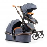 Snoozy ONE Kombi-Kinderwagen, Denim Blue