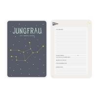 Milestone Sternzeichen-Posterkarte / Jungfrau