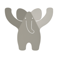 Tresxics Wandhaken Elefant