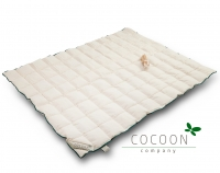 Cocoon Junior Bettdecke aus Kapok Light, 140 x 200 cm