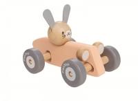 PlanToys Rennwagen mit Hase