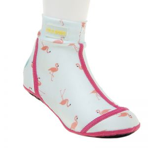 Duukies Beachsocks, Flamingo Mint