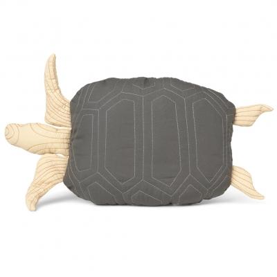 Ferm Living Patchwork Kissen Schildkröte