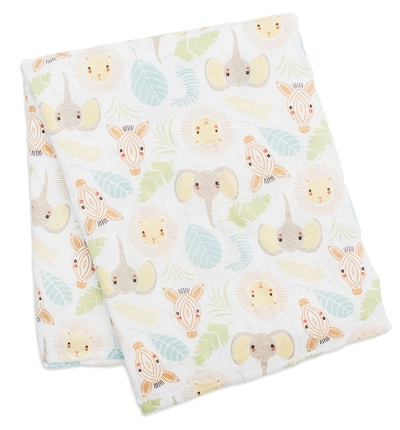 Lulujo Bambus Muslin Swaddle Mulltuch - Jungle