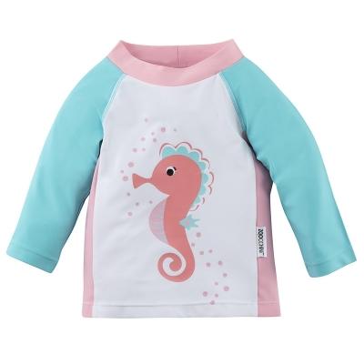 Zoocchini UV-Schutz-Shirt/ Rashguards - Seepferdchen