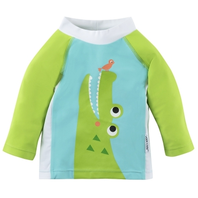Zoocchini UV-Schutz-Shirt/ Rashguards - Alligator