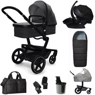 JOOLZ Day+ Kinderwagen Premium Set, Awesome Anthracite (inkl. Versicherung)