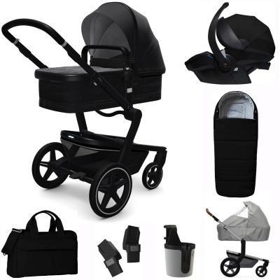 JOOLZ Day+ Kinderwagen Premium Set, Brilliant Black (inkl. Versicherung)